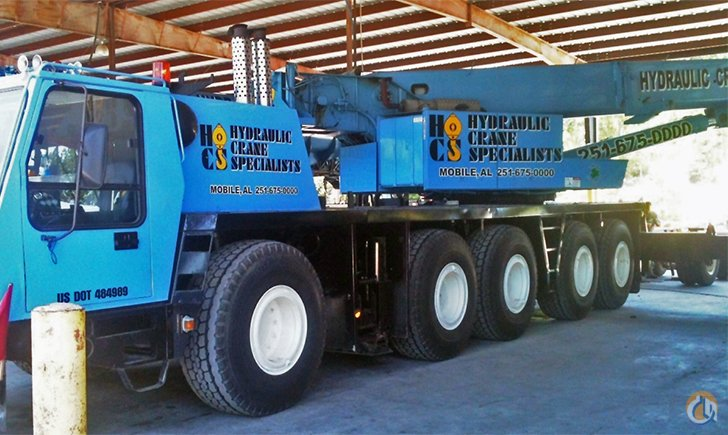 Krupp KMK 5110 Crane for Sale or Rent in Saraland Alabama on CraneNetworkcom