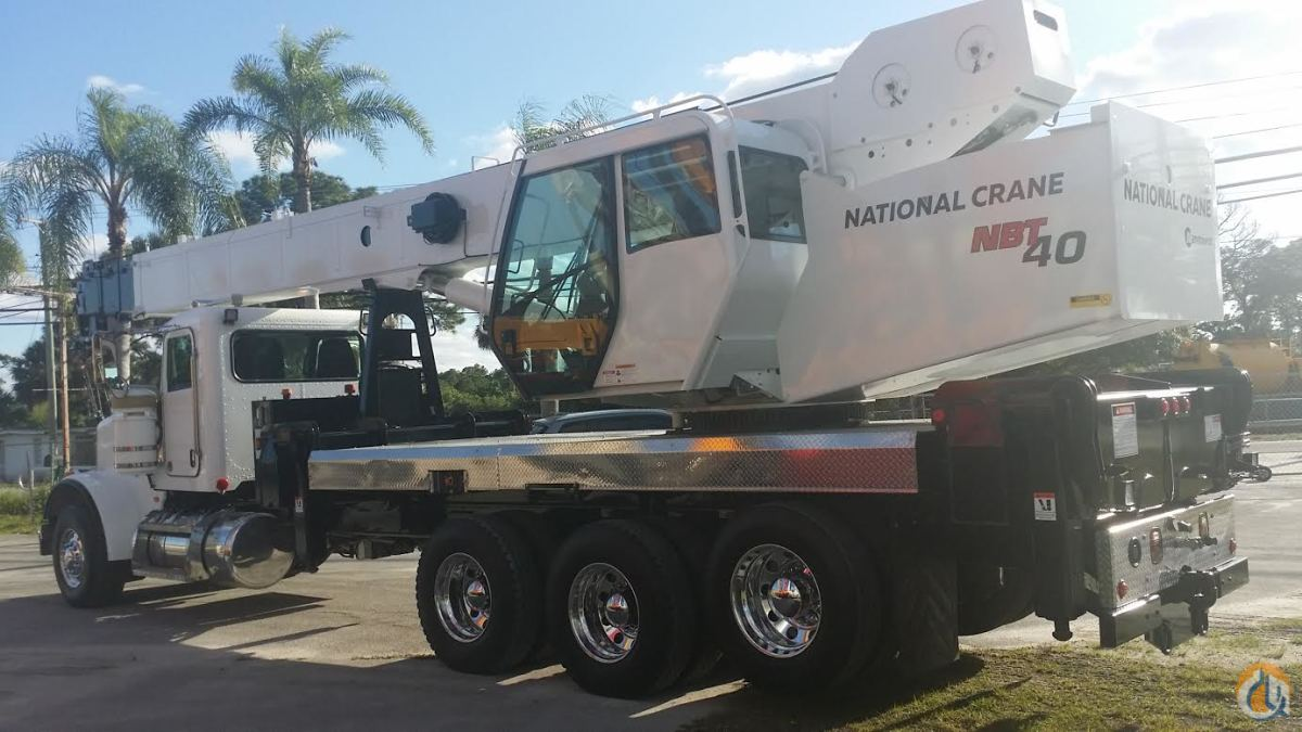 2006 NATIONAL 1800 103 40 TON 2W FLORIDA Crane for Sale or Rent in Fort Pierce Florida on CraneNetwork.com