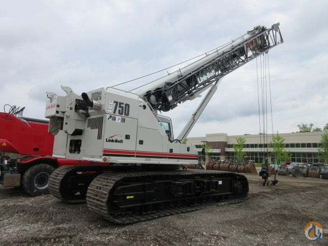 2017 Link-Belt TCC 750 IN STOCK Crane for Sale in Lyon Charter Township Michigan on CraneNetworkcom