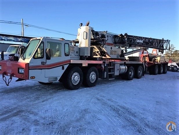 Link-Belt HTC-86100 Truck Mounted Telescopic Boom Cranes Crane for Sale LINK-BELT HTC 86100  2011 in  Alberta  Canada 217862 CraneNetwork