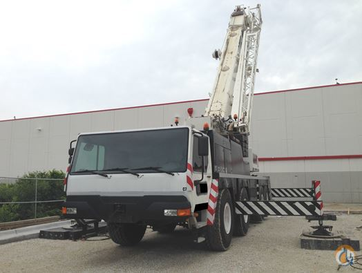 2001 LIEBHERR LTM 10801L Crane for Sale in Houston Texas on CraneNetworkcom