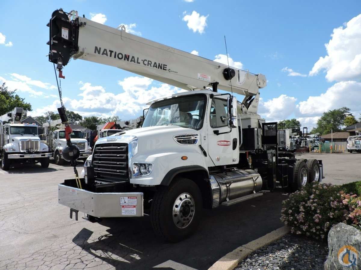 National Crane 680HTM 2018 Freightliner 114SD Crane for Sale in Lyons Illinois on CraneNetwork.com