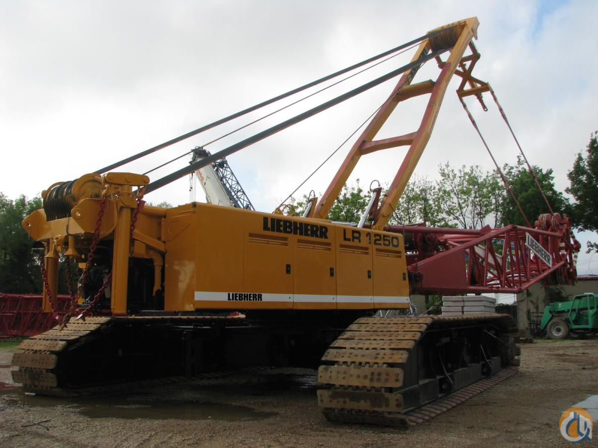 1999 LIEBHERR LR 1250 Crane for Sale in Lewisville Texas on CraneNetworkcom