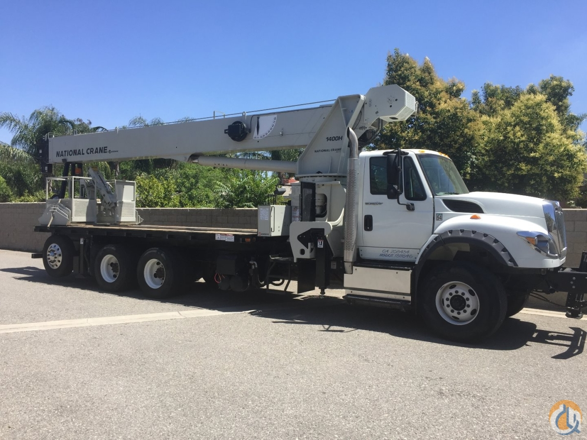 2013 National 14127H Crane for Sale in Fontana California on CraneNetwork.com
