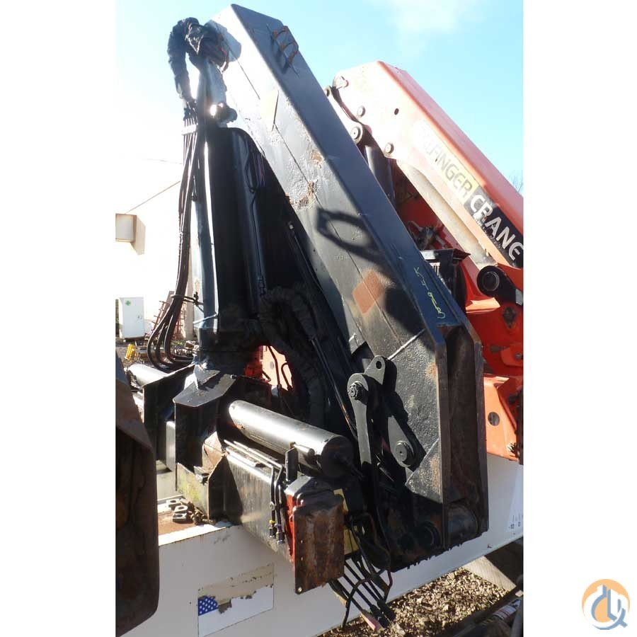 Sold 1993 PALFINGER KNUCKLEBOOM MODEL PK10500A 4.5 TON Crane for  on CraneNetwork.com