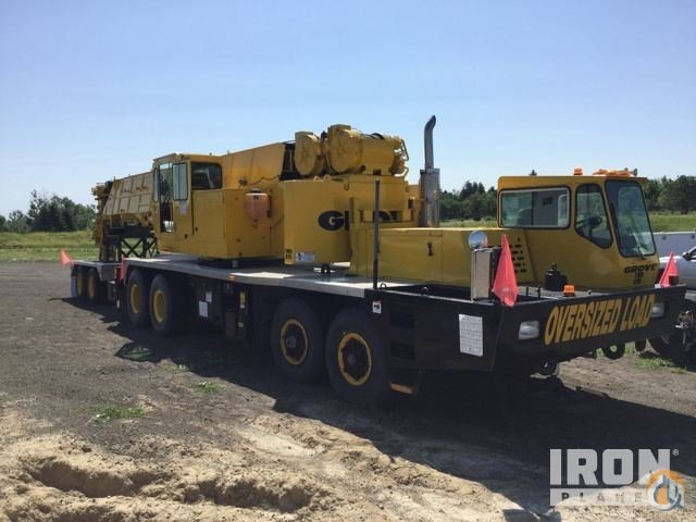 Sold 1987 Grove TMS875 Hydraulic Truck Crane Crane for  in Wheatland Wyoming on CraneNetwork.com