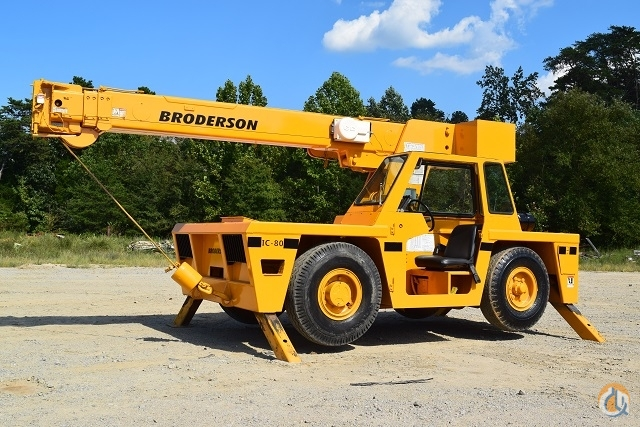 2006 Broderson IC80-3G Crane for Sale in Sutherlin Virginia on CraneNetwork.com