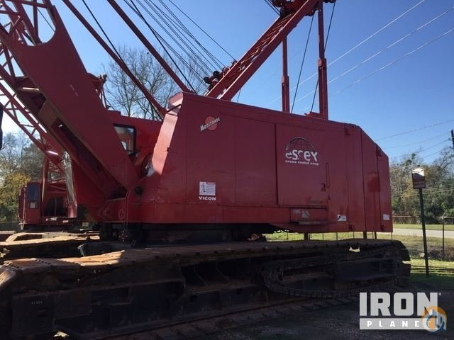 Sold 1978 Manitowoc 4100W-II 230 Ton Lattice-Boom Crawler Crane Crane for  in Arcola Texas on CraneNetwork.com