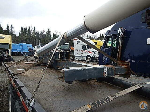Terex Cranes Parts : Sold for salvage parts terex bt boom crane