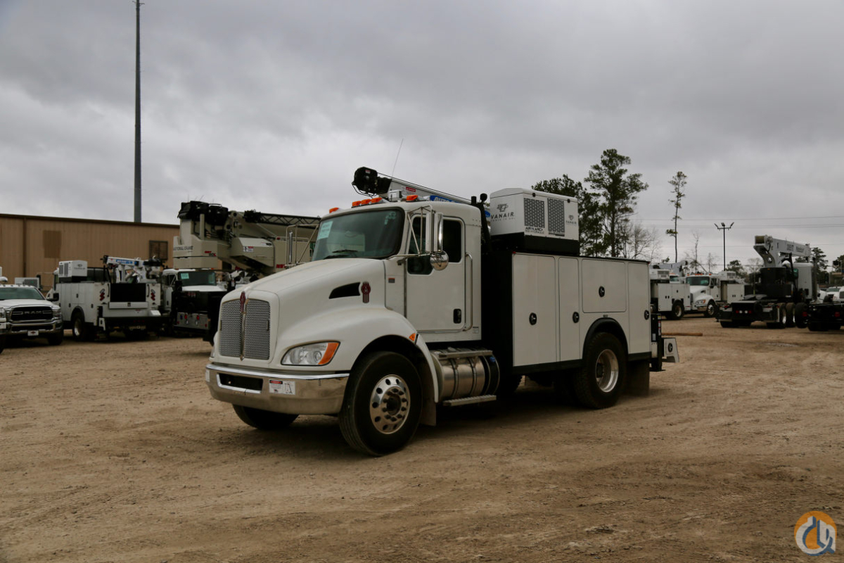 New Auto Crane HC-12s with Titan 60 service body mounted to Kenworth T370 chassis Crane for Sale in Houston Texas on CraneNetwork.com