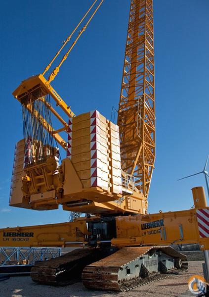 W Crane Guy Liebherr LR 160...