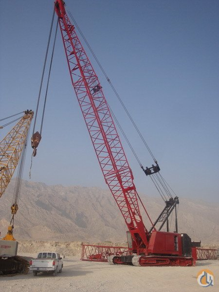 Jib Crane In Uae : Sold manitowoc sii w complete ringer set crane for