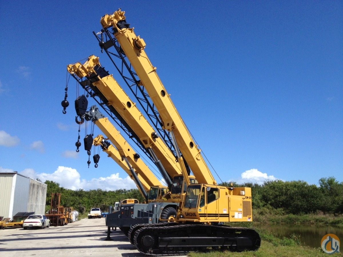 1999 GROVE CM20 FOR SALE Crane for Sale in New York New York on CraneNetwork.com