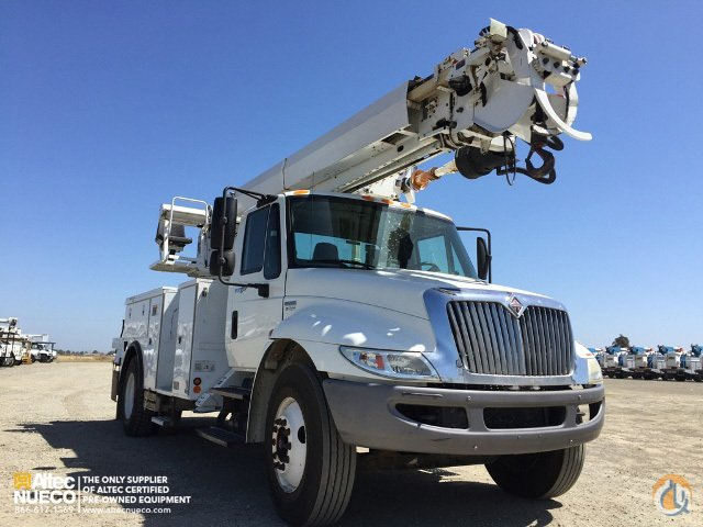 2009 ALTEC DM47-TR Crane for Sale in Dixon California on CraneNetworkcom