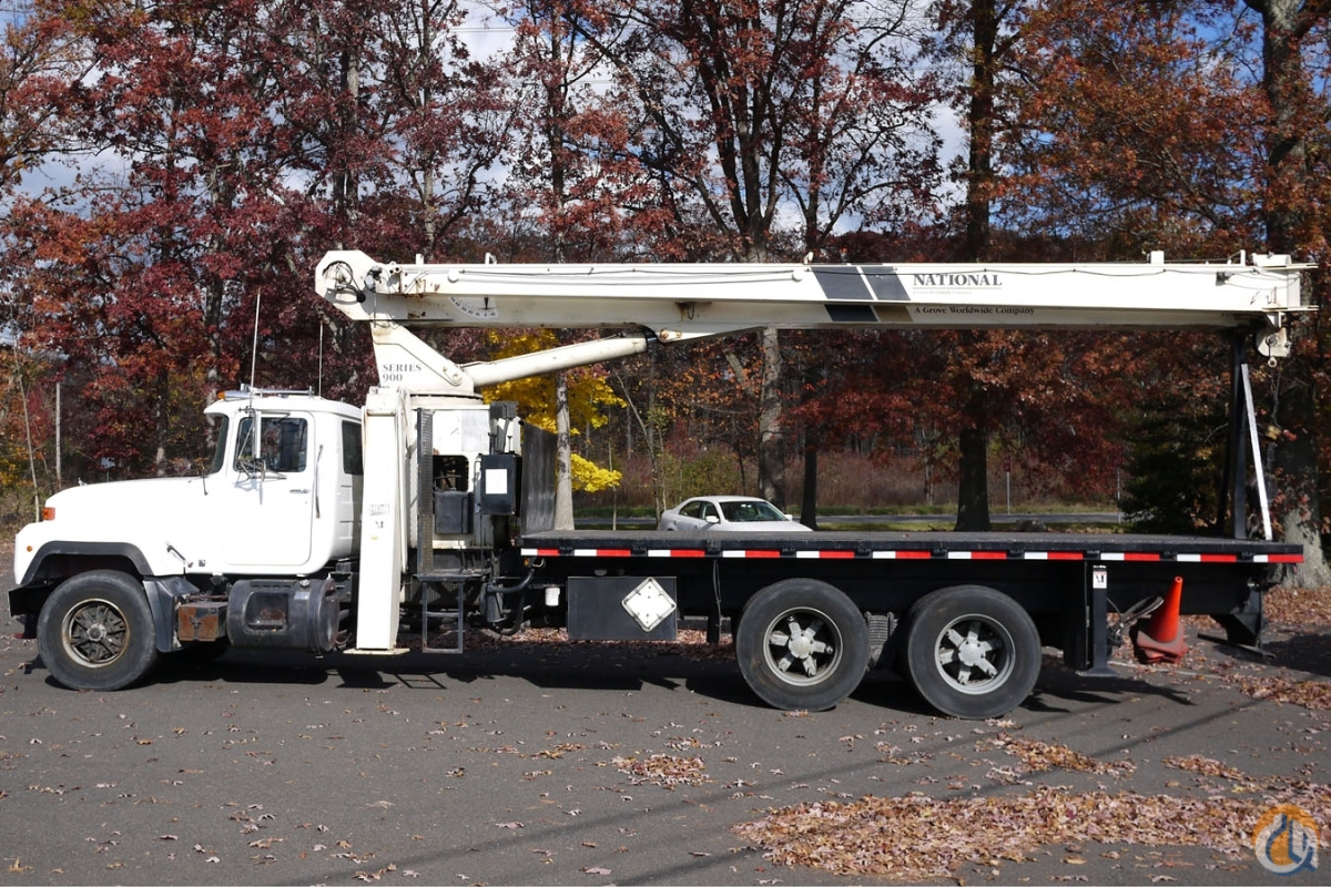 Sold 8862 - 1998 MACK RD6886 NATIONAL 900 CRANE 23 TON Crane for  in Hatfield Pennsylvania on CraneNetworkcom