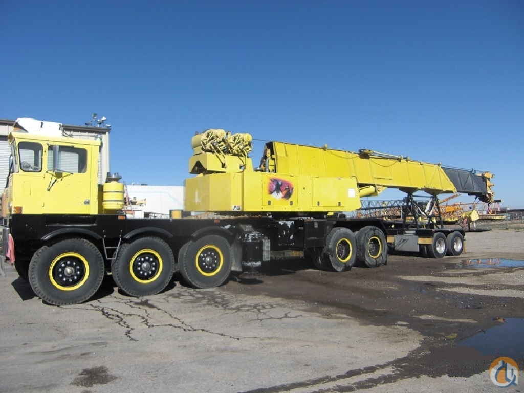 1979 Grove TM875 Hydraulic Truck Crane for Sale on CraneNetwork.com