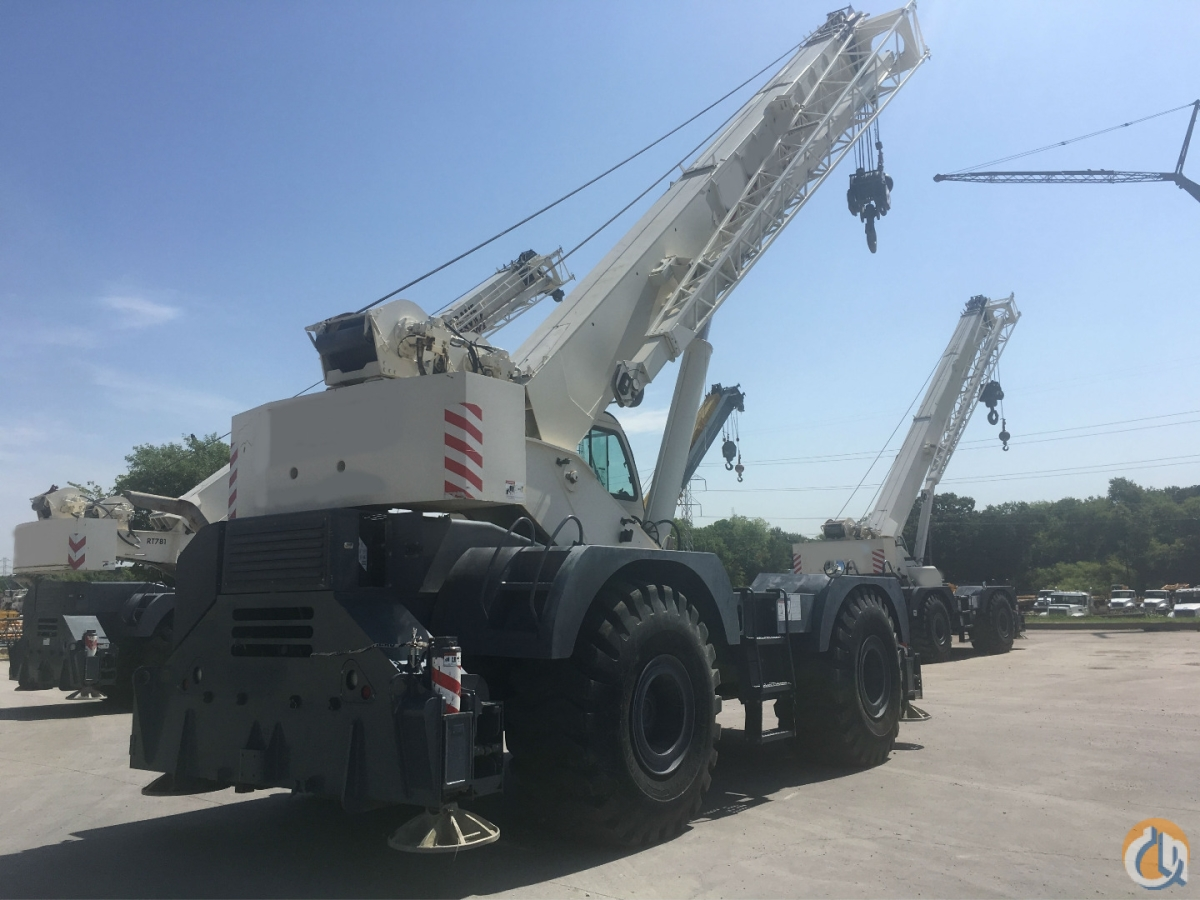 2012 TEREX RT670-1 ROUGH TERRAIN CRANE Crane for Sale in Dallas Texas on CraneNetwork.com