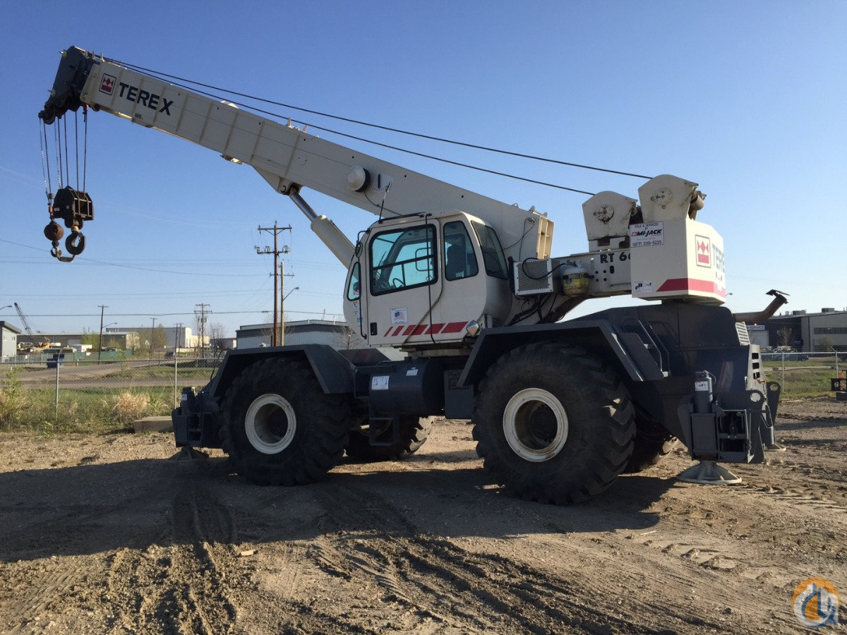 2008 Vintage Terex RT665 Crane for Sale or Rent in Leduc Alberta on CraneNetwork.com