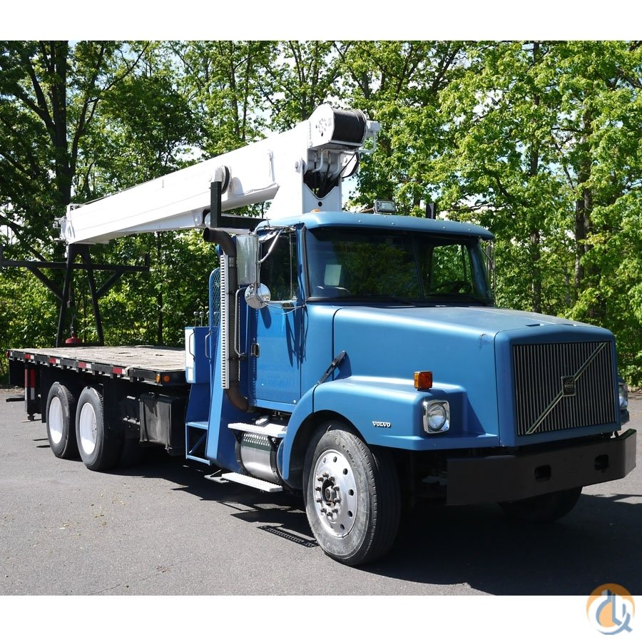 8897 - 1997 VOLVO WG64 MANITEX CRANE MODEL 2284 22 TON Crane for Sale in Hatfield Pennsylvania on CraneNetworkcom
