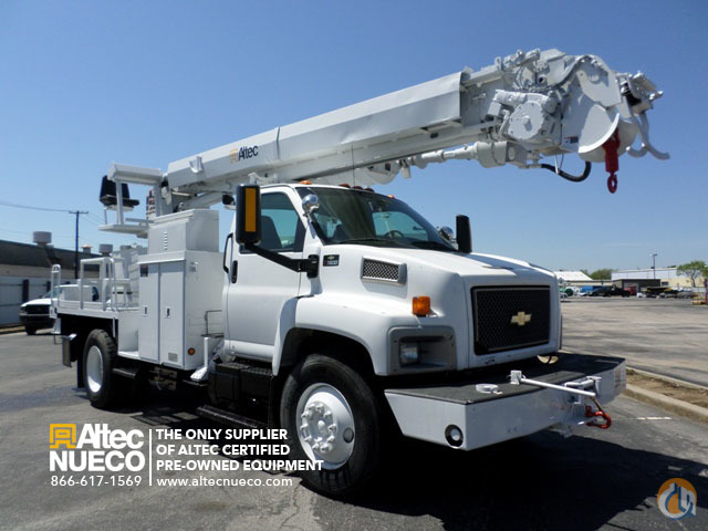 2005 ALTEC DM47-BR Crane for Sale in Calera Alabama on CraneNetworkcom