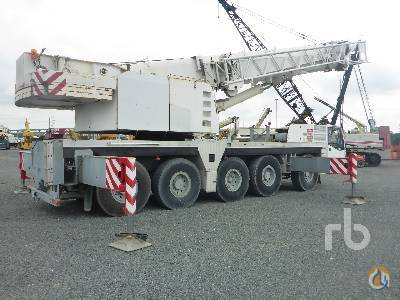 Sold 2000 DEMAG AC120 120 Ton 10x8x8 All Terrain Crane Crane for  in Houston Texas on CraneNetworkcom