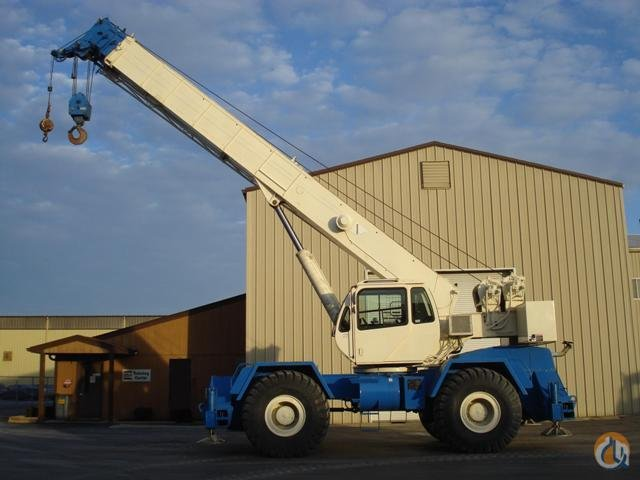 2006 Terex RT555-1 Rough Terrain Crane Crane for Sale in Gary Indiana on CraneNetwork.com
