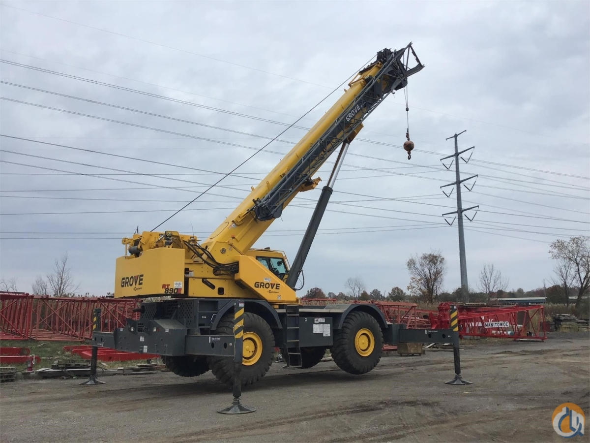 2015 GROVE RT890E Crane for Sale or Rent in Cleveland Ohio on CraneNetwork.com