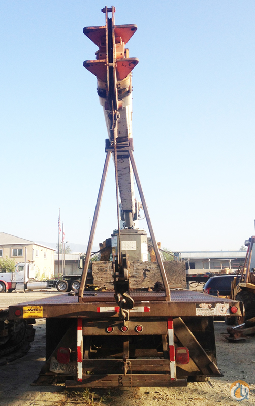 Sold 1988 RO 110-55 Boom Truck Crane for on CraneNetwork com