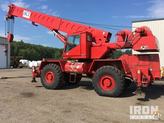 Sold Link-Belt HSP-8035 Rough Terrain Crane Crane for  in Brentwood New Hampshire on CraneNetwork.com