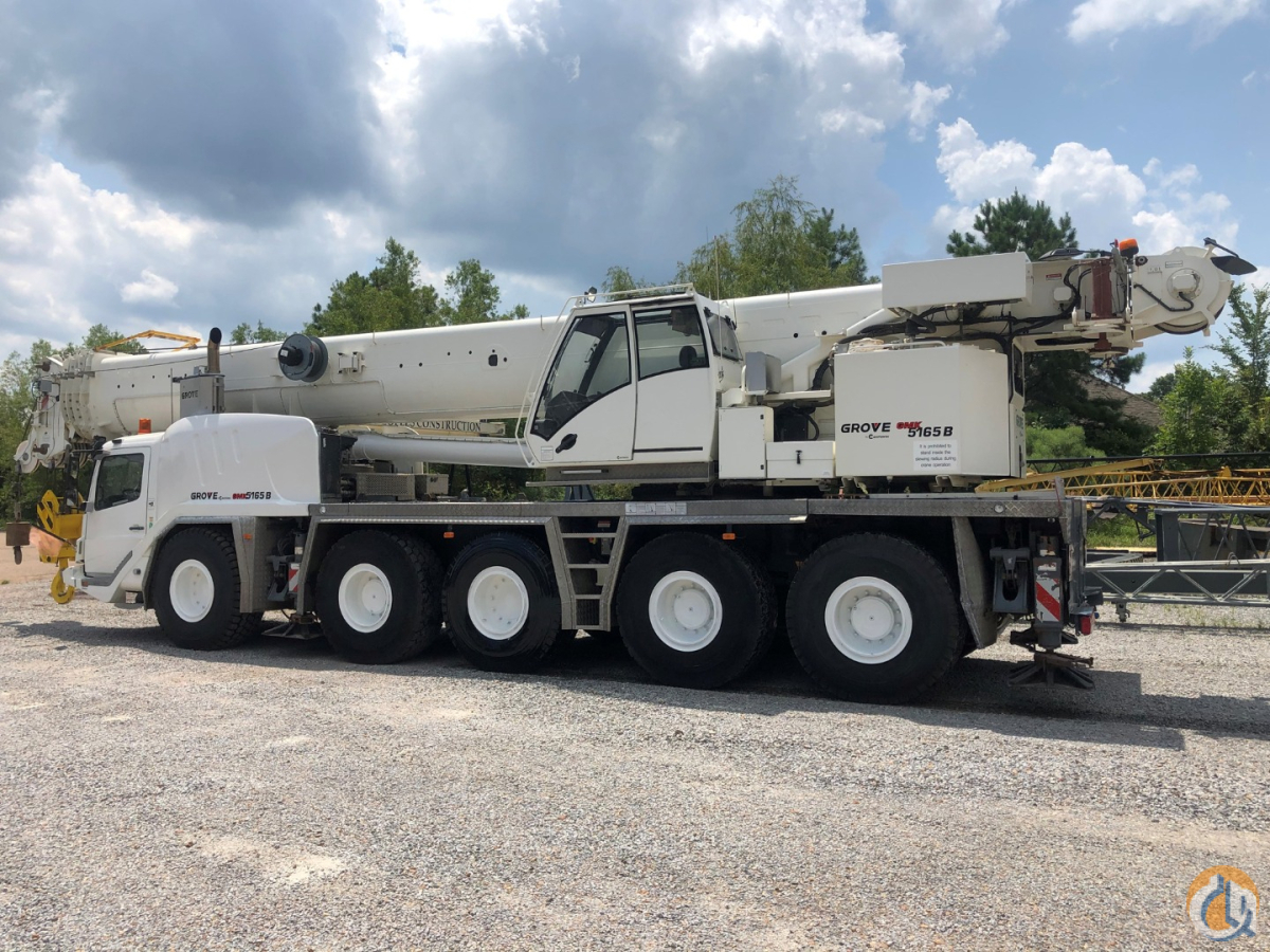 2012 GROVE GMK-5165B Crane for Sale in Jackson Mississippi on CraneNetwork.com