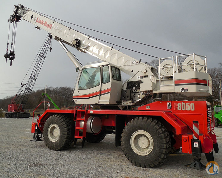2014 Link-Belt RTC8050II Available Crane for Sale in Williston Vermont on CraneNetworkcom
