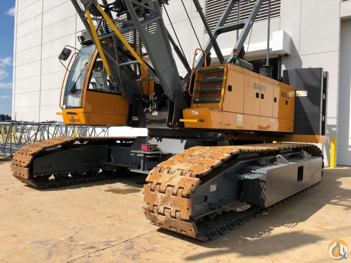 2012 Sany SCC8100 Crane for Sale on CraneNetwork.com
