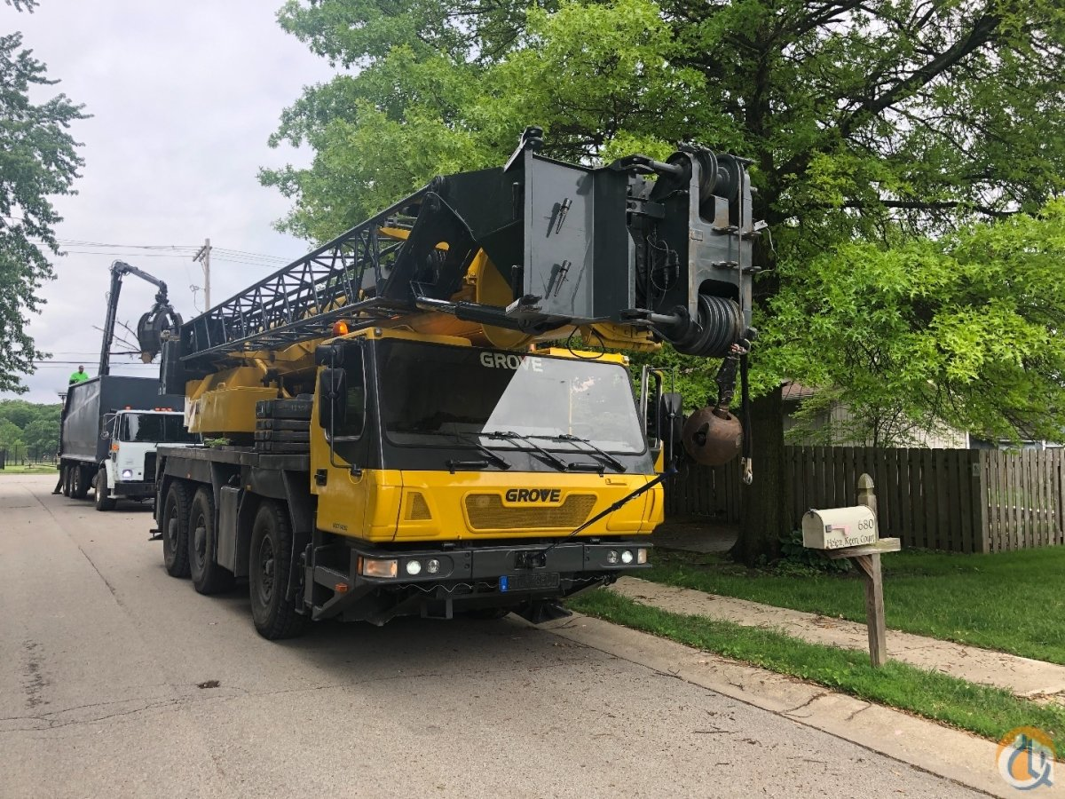 2006 Grove GMK3055 Crane for Sale or Rent in Indianapolis Indiana on CraneNetwork.com
