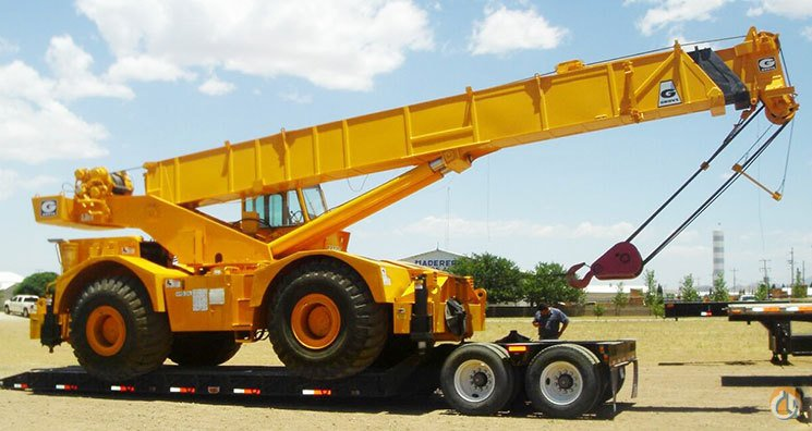 1975 Grove RT755 55 Ton Rough Terrain CBJ658 Crane for Sale on CraneNetworkcom