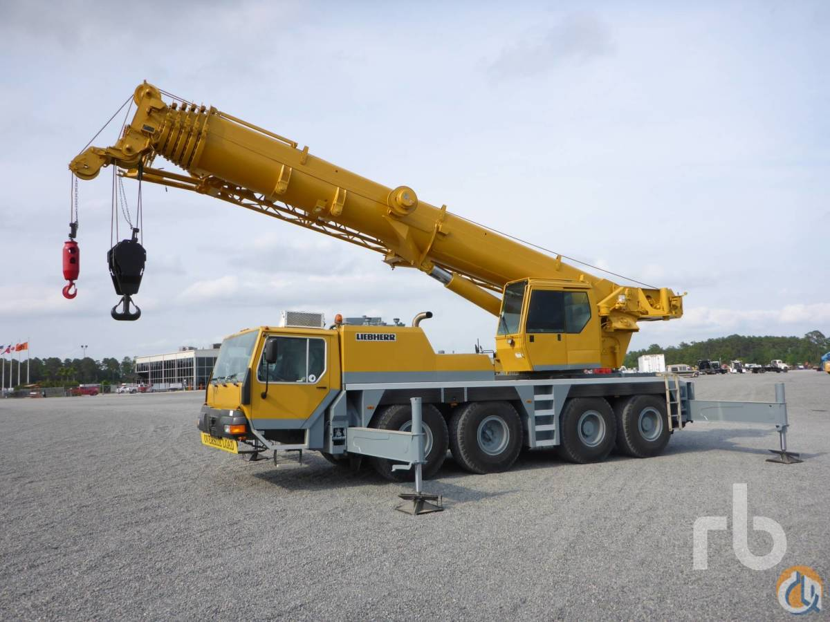 Sold 2000 LIEBHERR LTM1080-1 100 Ton All Terrain Crane Crane for  in Houston Texas on CraneNetworkcom