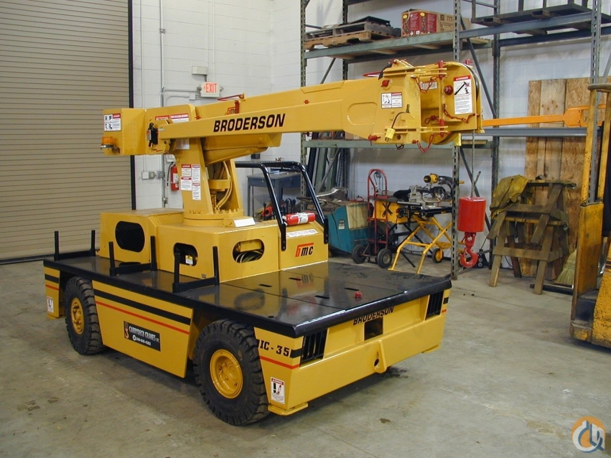 CCI- Broderson IC-35 Crane for Sale in New York New York on CraneNetworkcom
