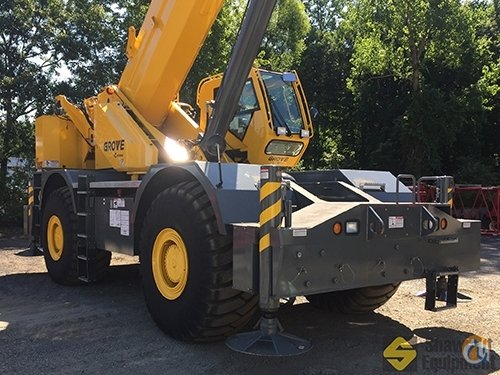 2015 Grove RT890E Crane for Sale in Manchester Connecticut on CraneNetwork.com
