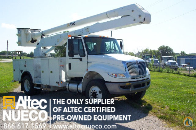 2009 ALTEC AA600-P Crane for Sale in Saint Joe Illinois on CraneNetworkcom