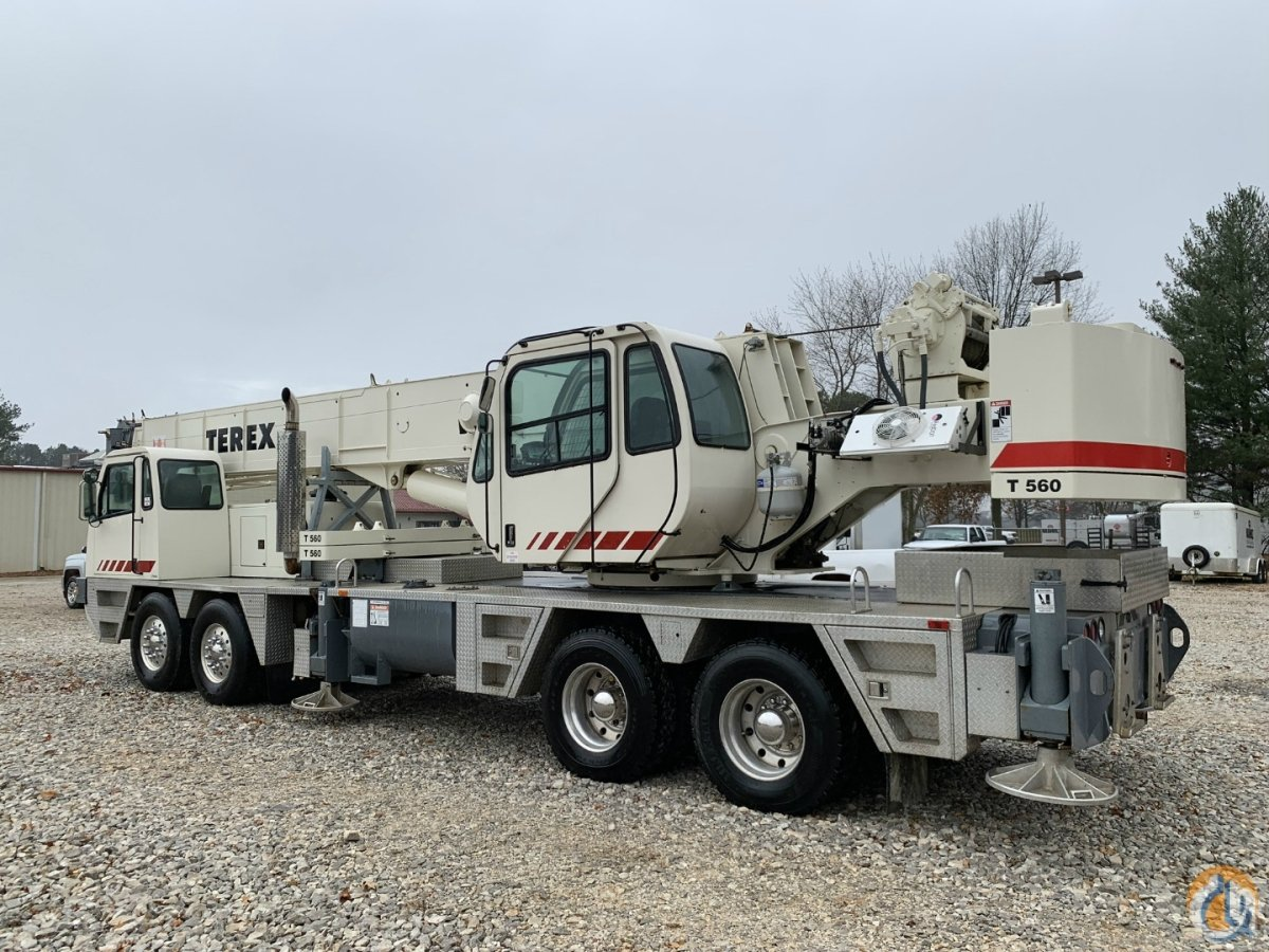 2000 TEREX T560 TRUCK CRANE Crane for Sale on CraneNetwork.com