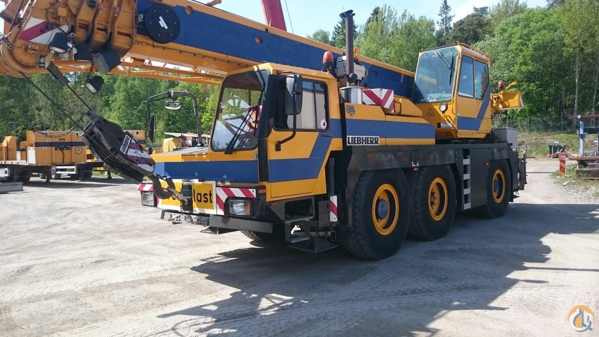 2001 Liebherr LTM 1040 Crane for Sale in Blsta Uppsala County on CraneNetworkcom
