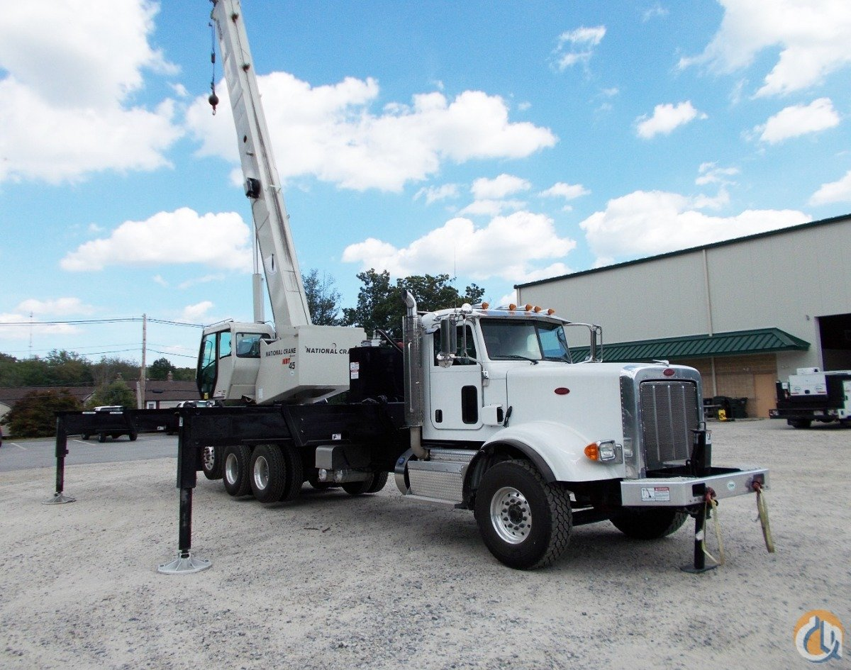 2014 National NBT45 on Peterbilt 367 Crane for Sale in Oxford Massachusetts on CraneNetwork.com