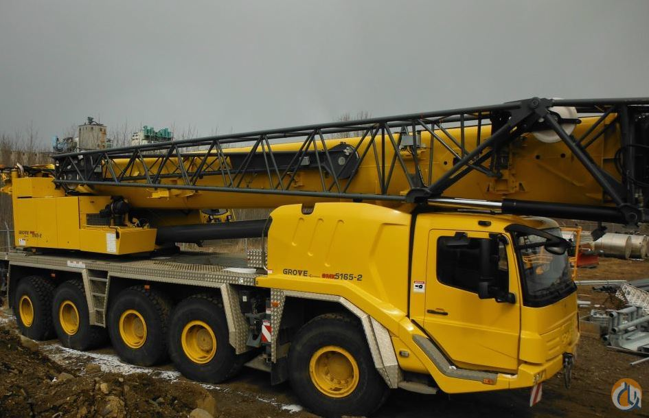 2012 GROVE GMK5165-2 Crane for Sale on CraneNetwork.com