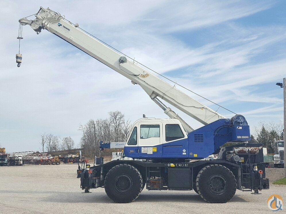 Tadano GR300XL 30 ton rough terrain Crane for Sale in Solon Ohio on CraneNetworkcom