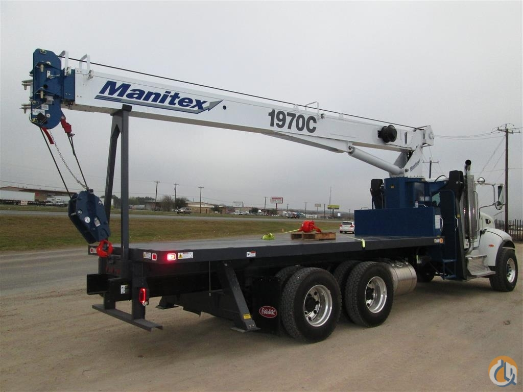 Used 2015 19-Ton Manitex Crane for Sale or Rent in San Antonio Texas on CraneNetworkcom