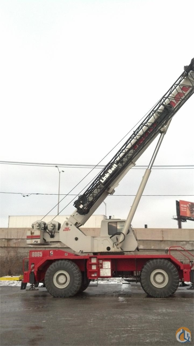 2008 LINK-BELT RTC-8065 II Crane for Sale in Bridgeview Illinois on CraneNetwork.com