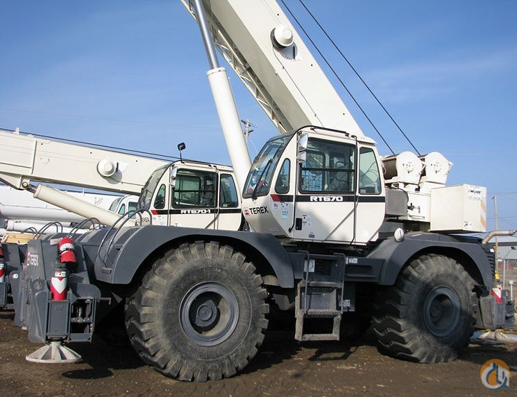 2012 Terex RT670 Crane for Sale in Leduc Alberta on CraneNetworkcom
