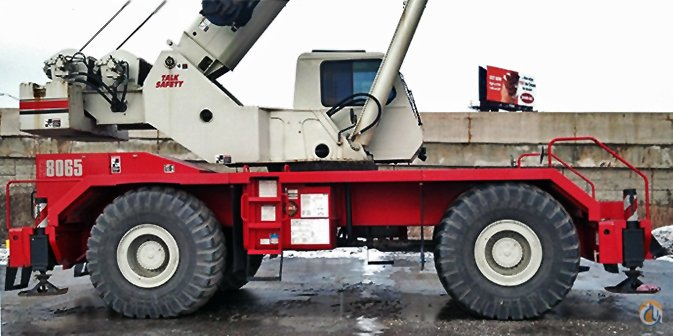2008 LINK-BELT RTC-8065 SII Crane for Sale or Rent in Bridgeview Illinois on CraneNetworkcom