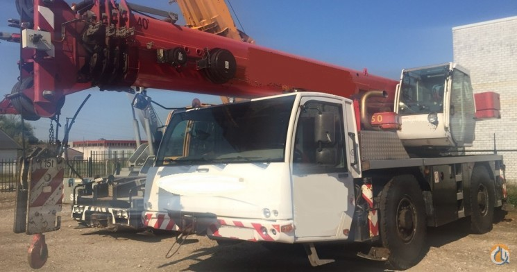 TEREX AC 40-2 Crane for Sale in Duisburg North Rhine-Westphalia on CraneNetworkcom