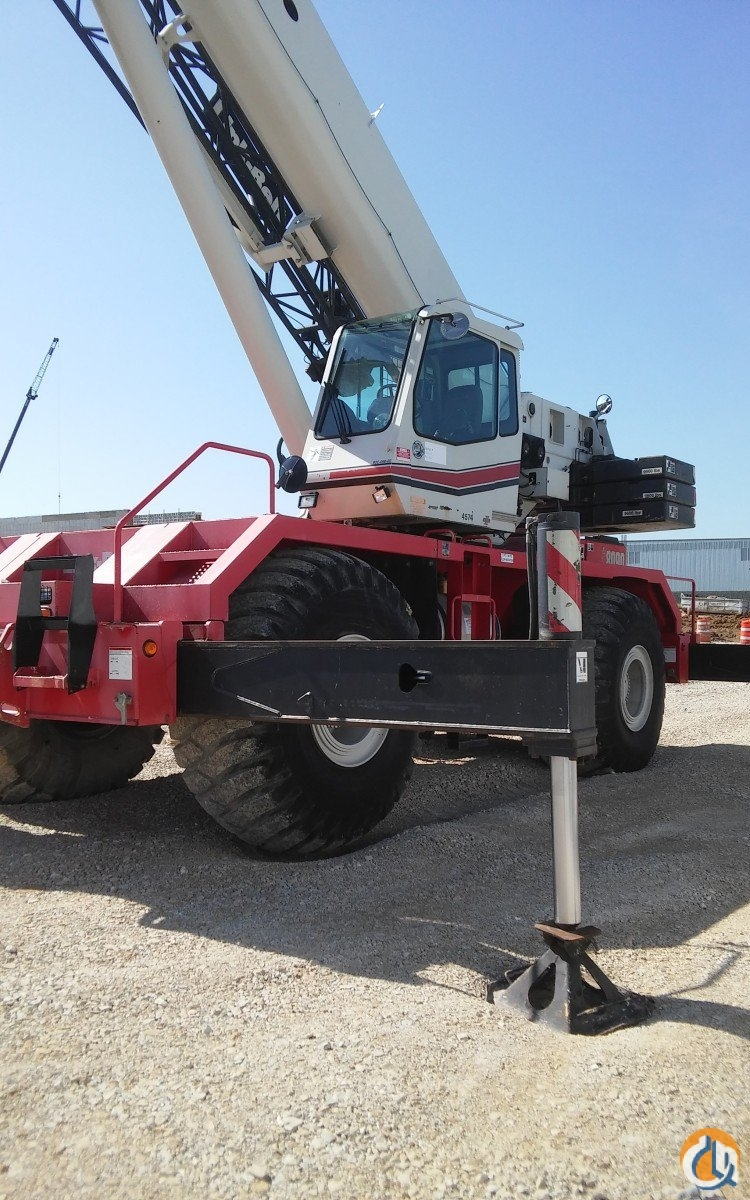 2007 Link-Belt RTC-8090 II Crane for Sale in St. Louis Missouri on CraneNetwork.com