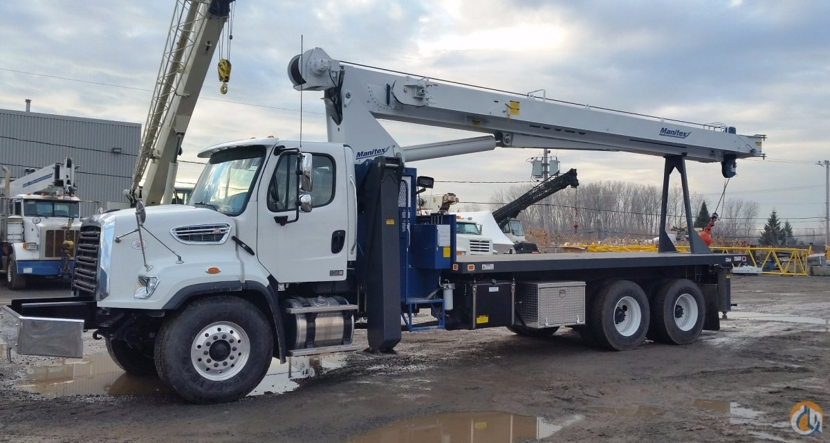 Sold 2016 Manitex 2892C Crane for  in Laval Qubec on CraneNetworkcom